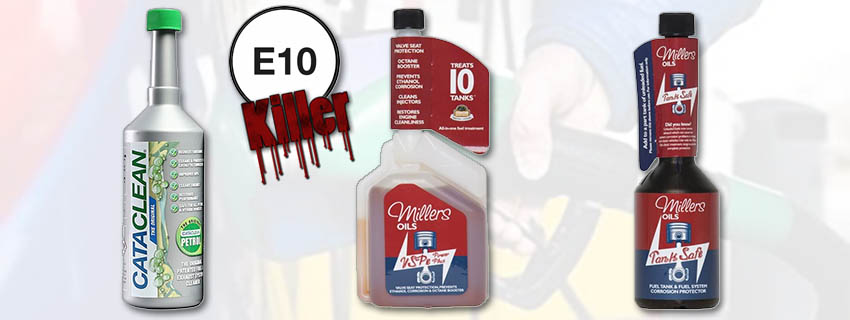 . Protect your engine against E10 with Ethanol killer