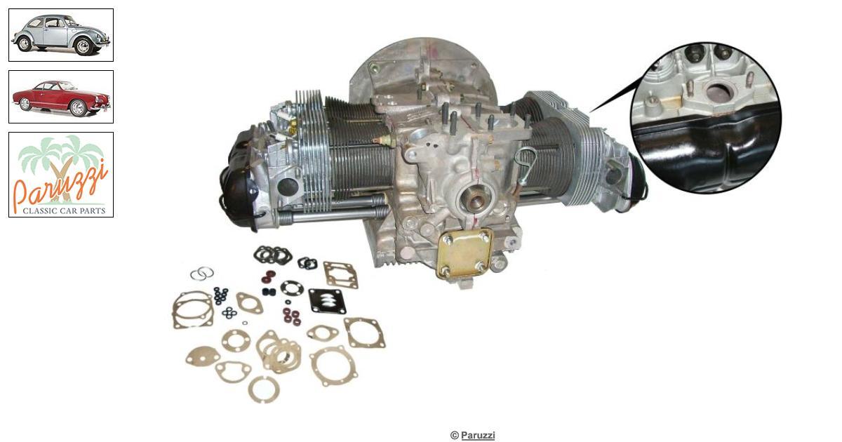 vw typ 4 motor säljes