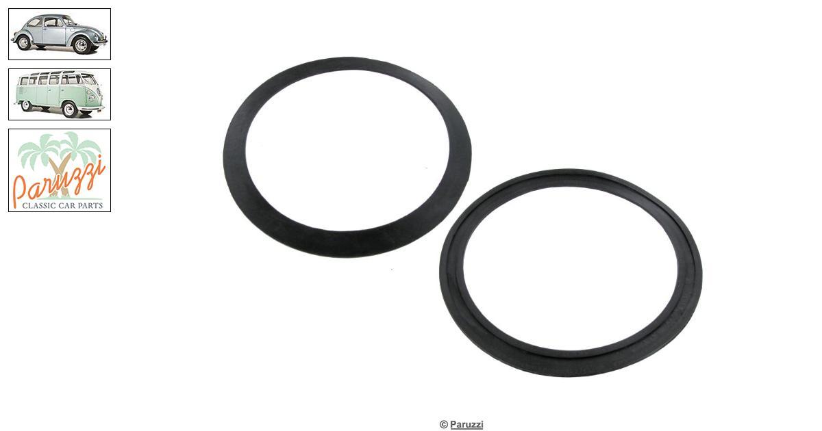 volkswagen beetle seal headlight lens  per pair  number 610    111 941 119
