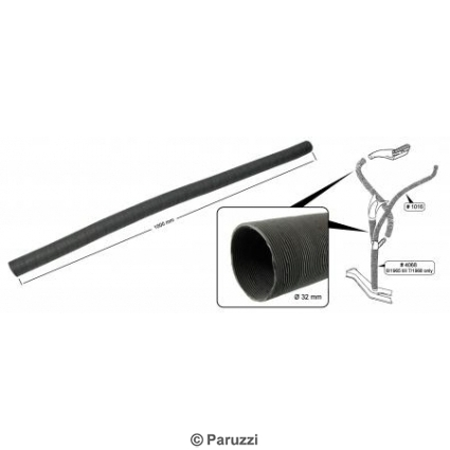 Heater hose Y-piece to demister Ø 32 x 1000 mm