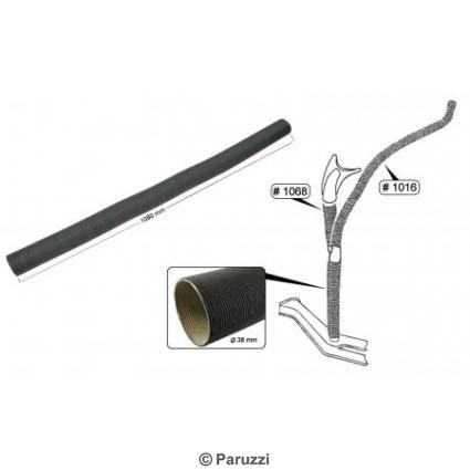 Heater hose in A-pillar cardboard Ø 38 x 1000 mm