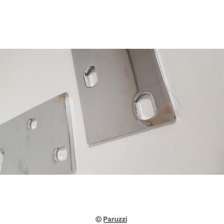 T-bars (chrome) pair.