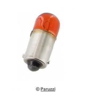 Bulb amber 6V 4W pair.