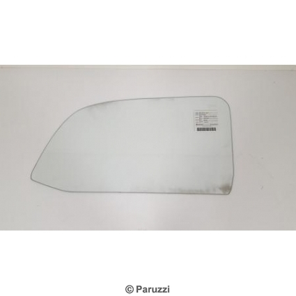 One-piece windows clear glass pair.