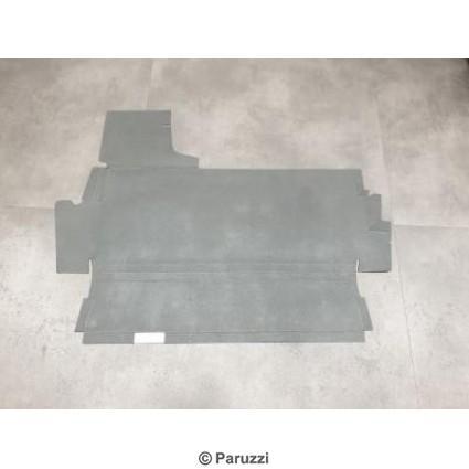 Trunk liner cardboard upper.