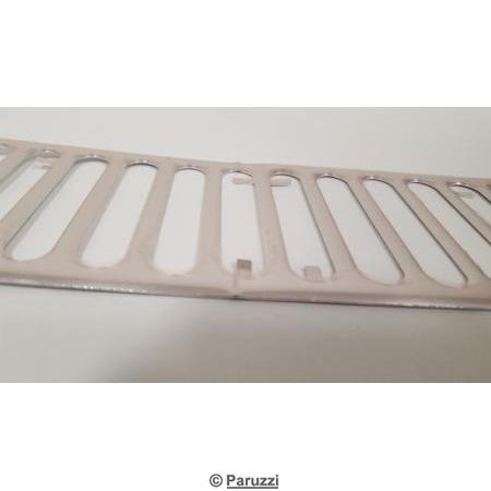 Aluminum vent trim below rear window (42 slots).