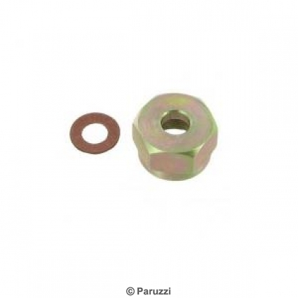 Fuel tank connection kit 6 mm (including filter).