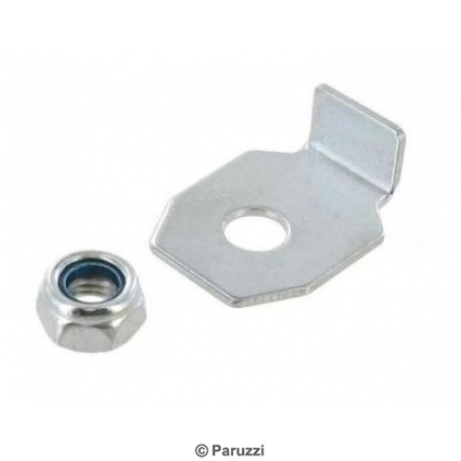 Heater lever mounting kit for one lever 4 pcs.