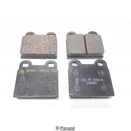 Brake pads (both sides).