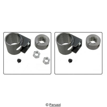 Lowering adjusters pair.