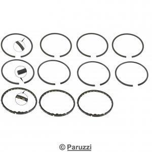 Big-bore piston ring set bore 87.00 .
