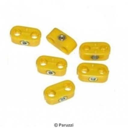 Ignition wire separators yellow.