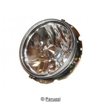 Headlight set clear glass H4.
