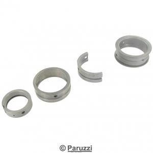 Steel-backed main bearings.