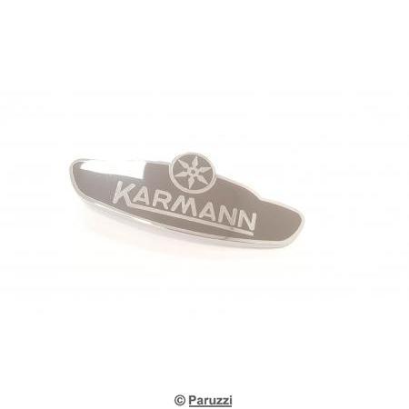 Firm emblem ''Karmann'' (right front panel).