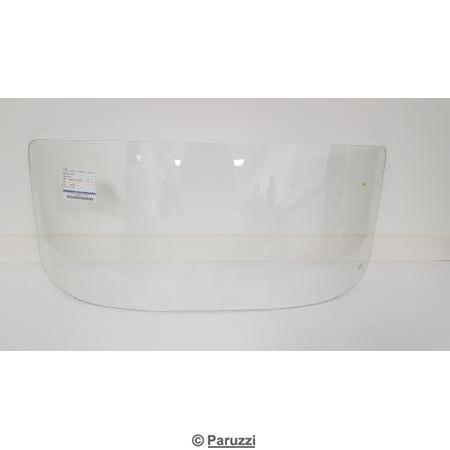 Windscreen clear glass.
