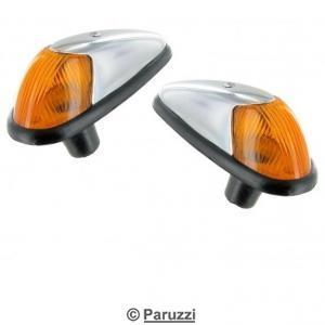 Turn indicators (amber lens) B-quality pair.