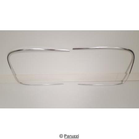 Rear window seal molding (2 pieces).