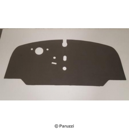 Floor mat front (rubber).