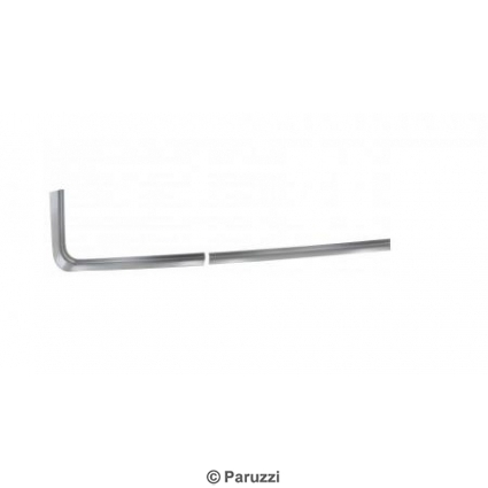 Rear side window recess repair parts right (3 pcs).