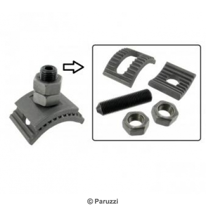 Puma style lowering system (weld on adjuster) pair.